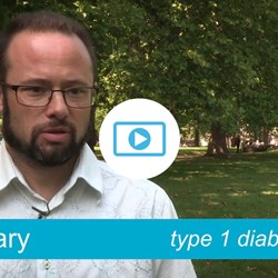 Image for Gary - type 1 diabetes, climbs his Everest